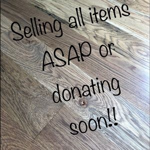 Other - Selling all items ASAP